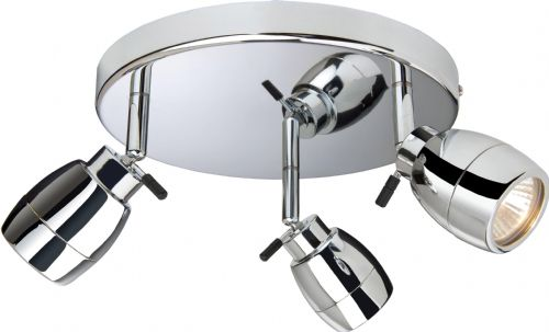 Firstlight 9503CH Chrome Marine 3 Light Flush